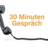 30 Minuten Telefonberatung